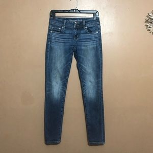 American Eagle Stretch Blue Jean Jegging